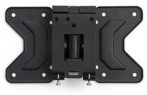 TV wall mounting plate with bracket bolts on the back