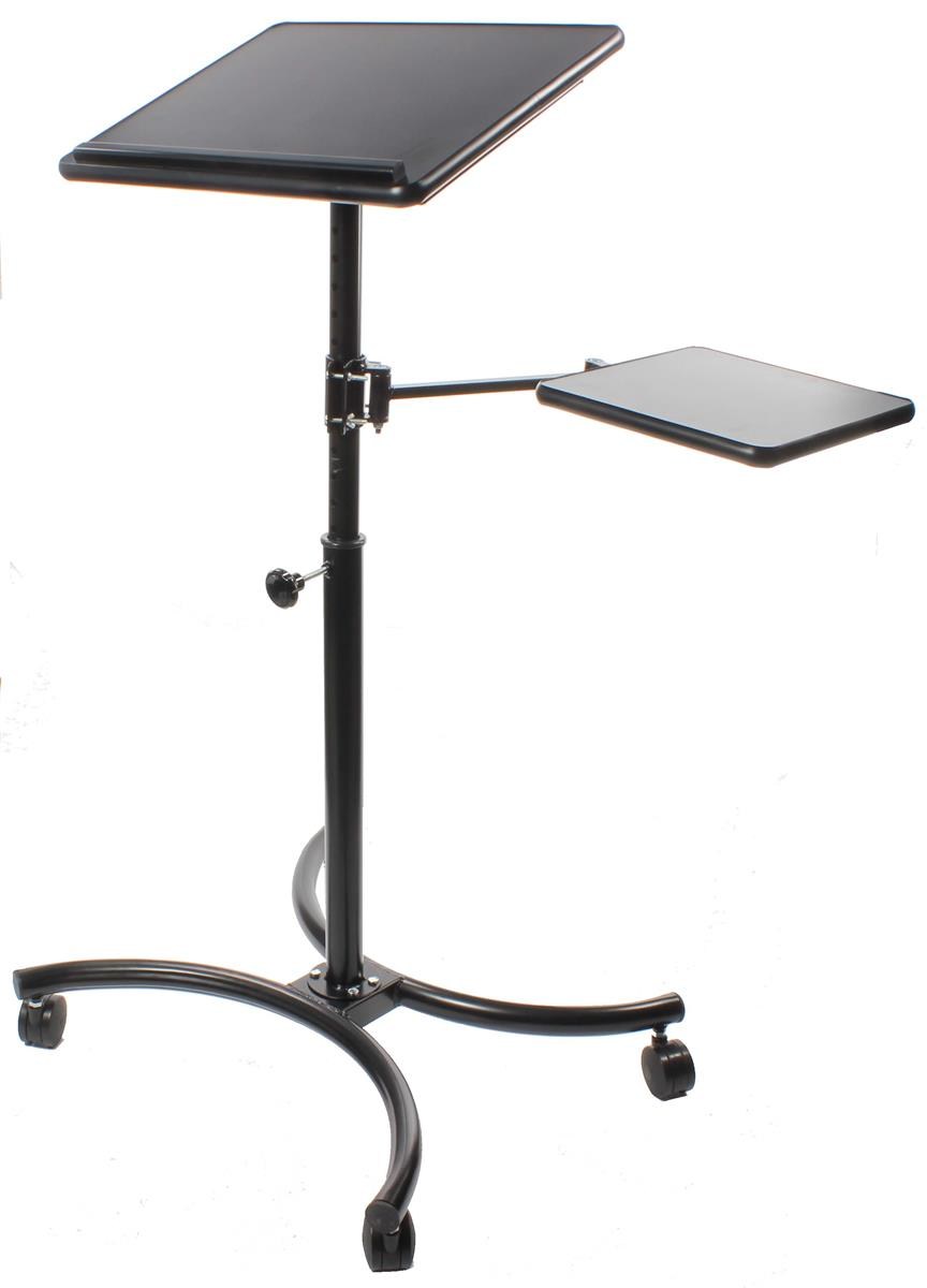 Displays2go Height Adjustable Laptop Stand, Extendable Se...