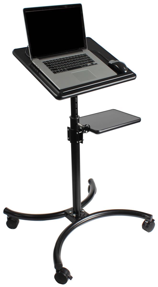 notebook stand height adjustable shelf w 20 platform. Black Bedroom Furniture Sets. Home Design Ideas