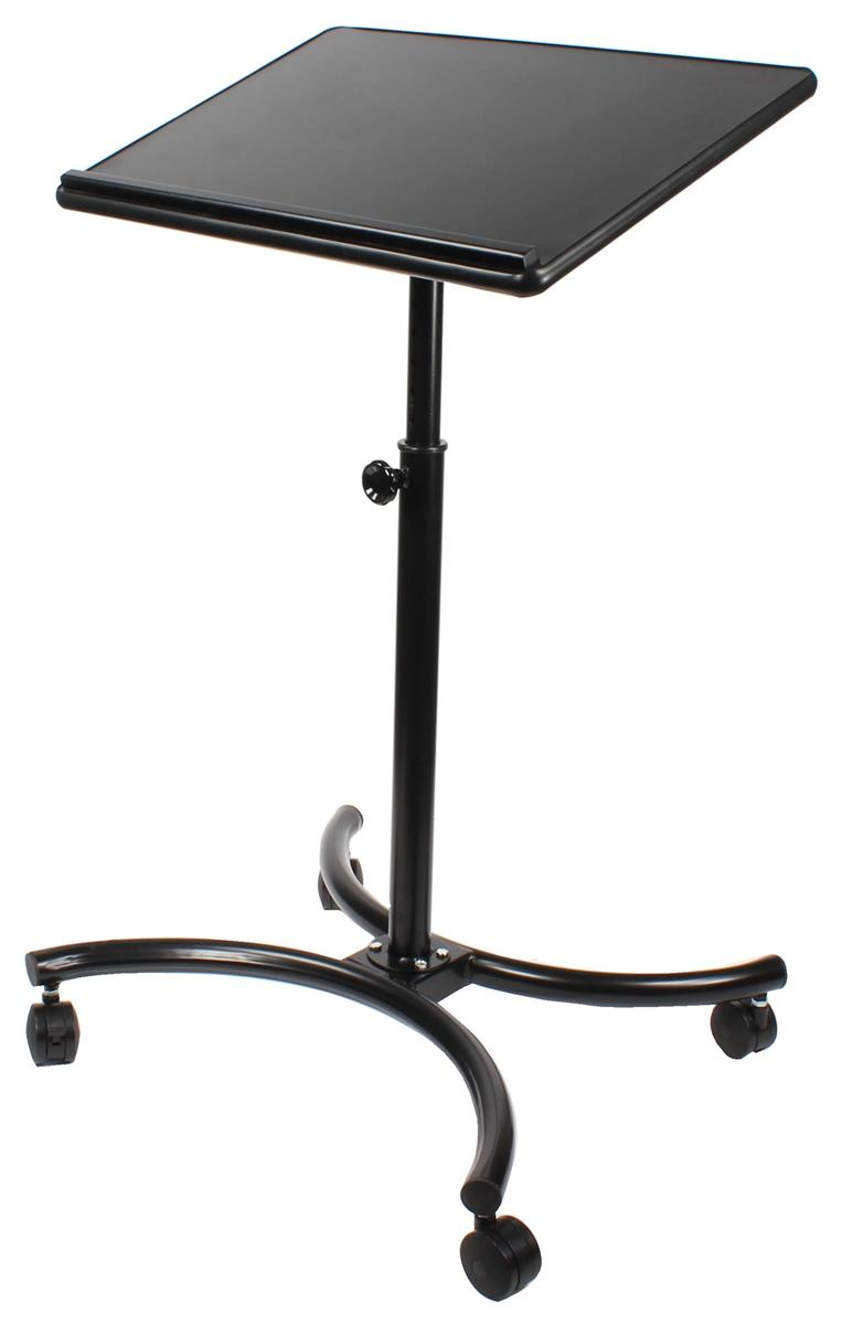 "Displays2go Height Adjustable Laptop Stand w/ Tilting 28""..."