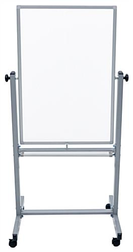Movable Whiteboard with Reversible Surface