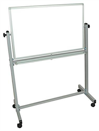 Double Sided Stand Up Whiteboard