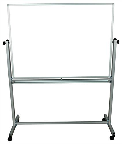 Mobile Magnetic Whiteboard with Aluminum Frame