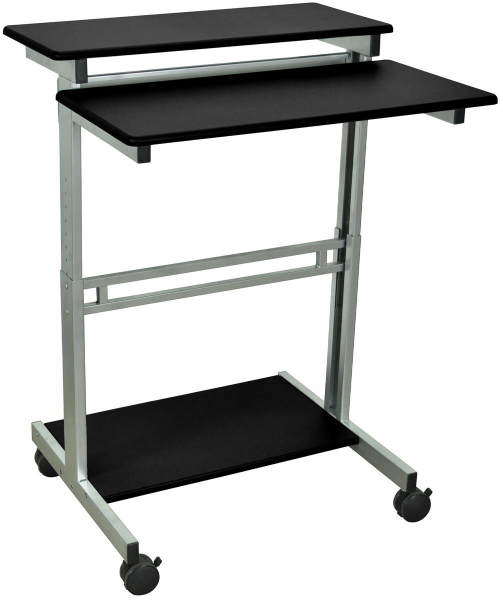 Adjustable Sit Stand Workstation Ergonomic Design