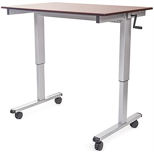 "Crank Adjustable Desk Betweeen 29""-42.65"""