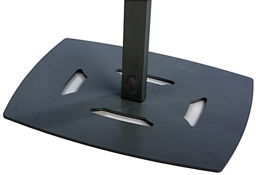 Universal Floor Stand with Sturdy Weighted Base