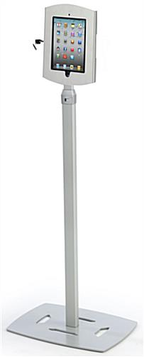 Universal Floor Stand Accommodates iPads, Poster Frames & More!