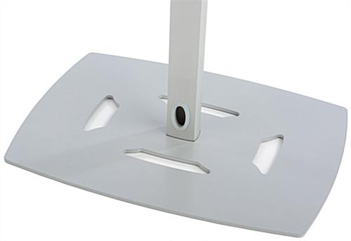 Universal Floor Stand with Weighted Base