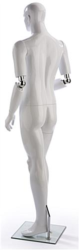 Poseable Male Mannequin for Clothing Stores