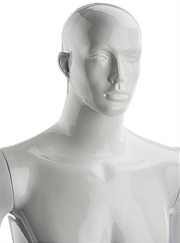 Poseable Male Mannequin Made of Fiberglass