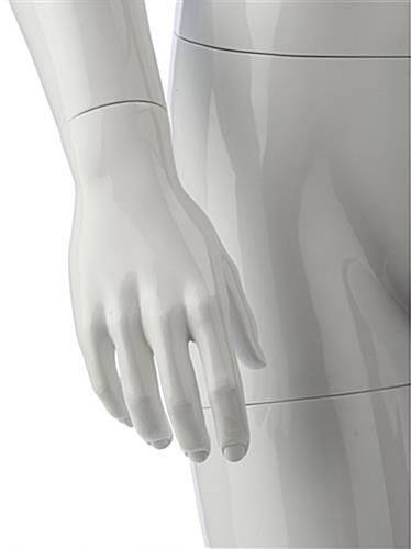 Poseable Male Mannequin is Lightweight