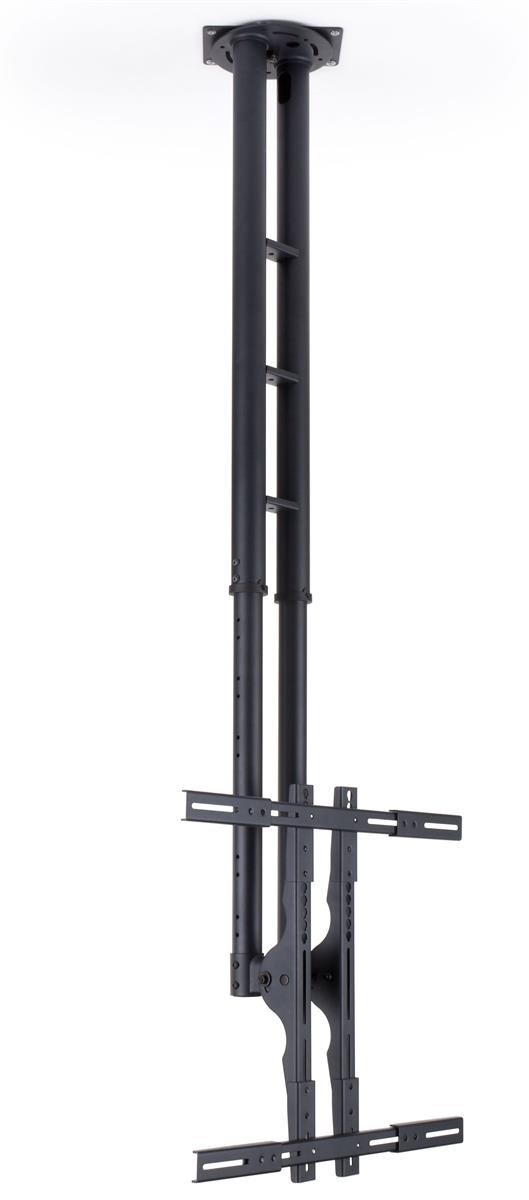"""Displays2go Ceiling TV Mount, Fits Monitors 32"""" to 47"""", H..."""