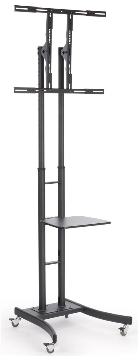 """Displays2go TV Stand with AV Shelf, Fits Monitors 32"""" to ..."""