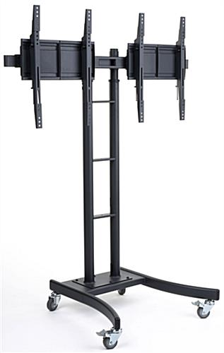 Dual Monitor Stand Tilt Amp Width Adjusts That Fits 32 Quot 65