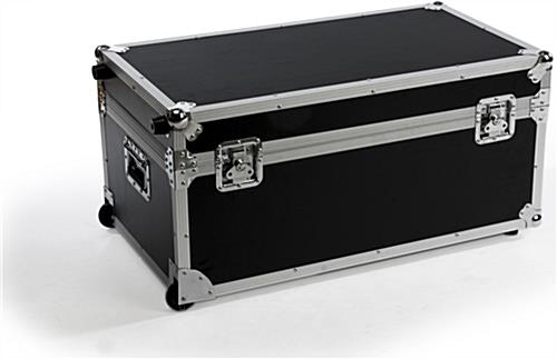 Mb Tv Stand Case Rolling Luggage For Trade Shows