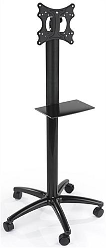 Single Pole TV Stand with Tilting Bracket