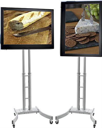 Expo Tv Stands : Portable tv stand with case quick easy assembly