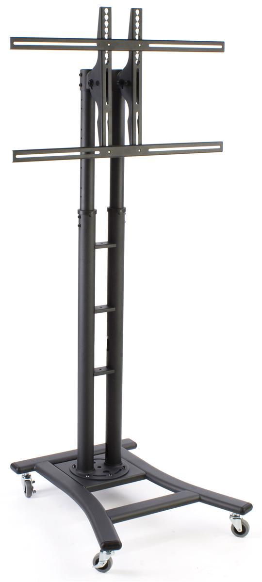 adjustable portable flat screen tv stand locking wheels. Black Bedroom Furniture Sets. Home Design Ideas