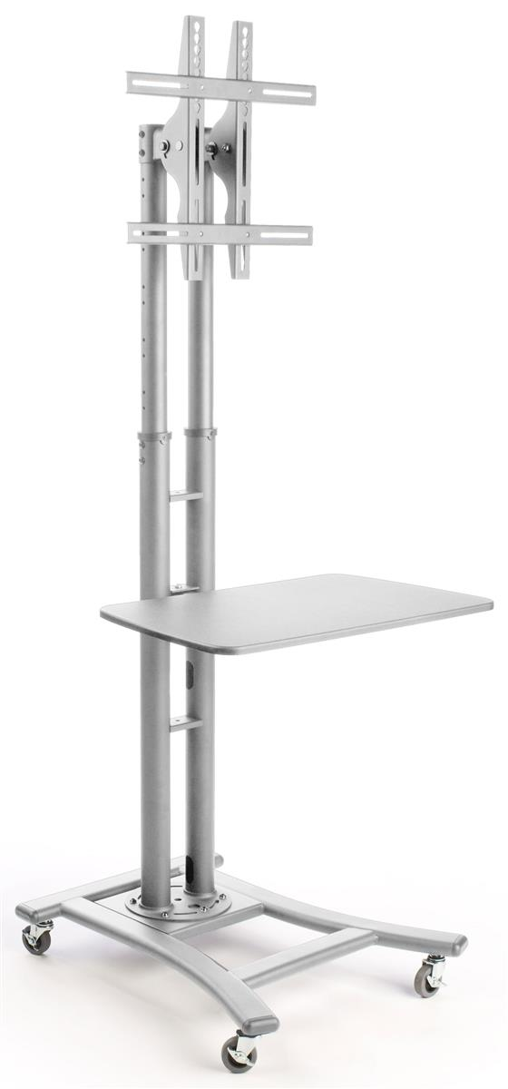 Lcd Tv Stand With Shelf Height Adjustable With Locking