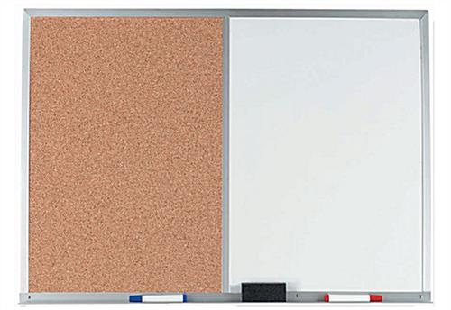 White Markerboard with Aluminum Frame