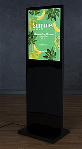Standing Light Box for a Freestanding Option