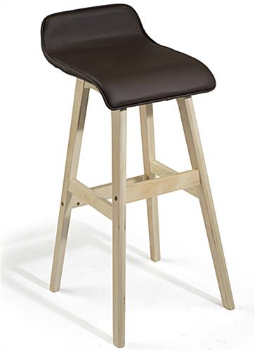 28 Inch Barstool wiht Wood Base
