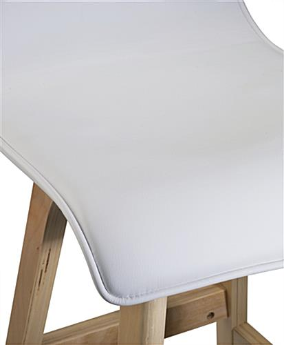 Modern Design Bar Stool with Leatherette Seat