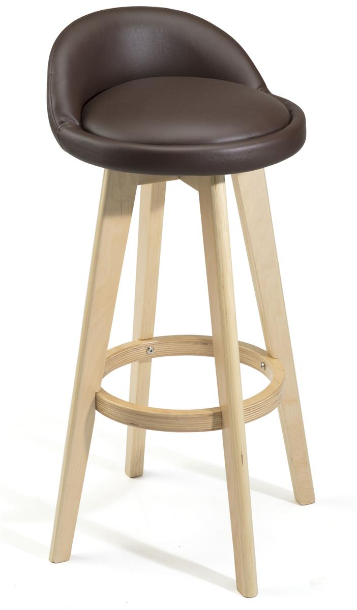 Bar Stool Chair Wood Legs