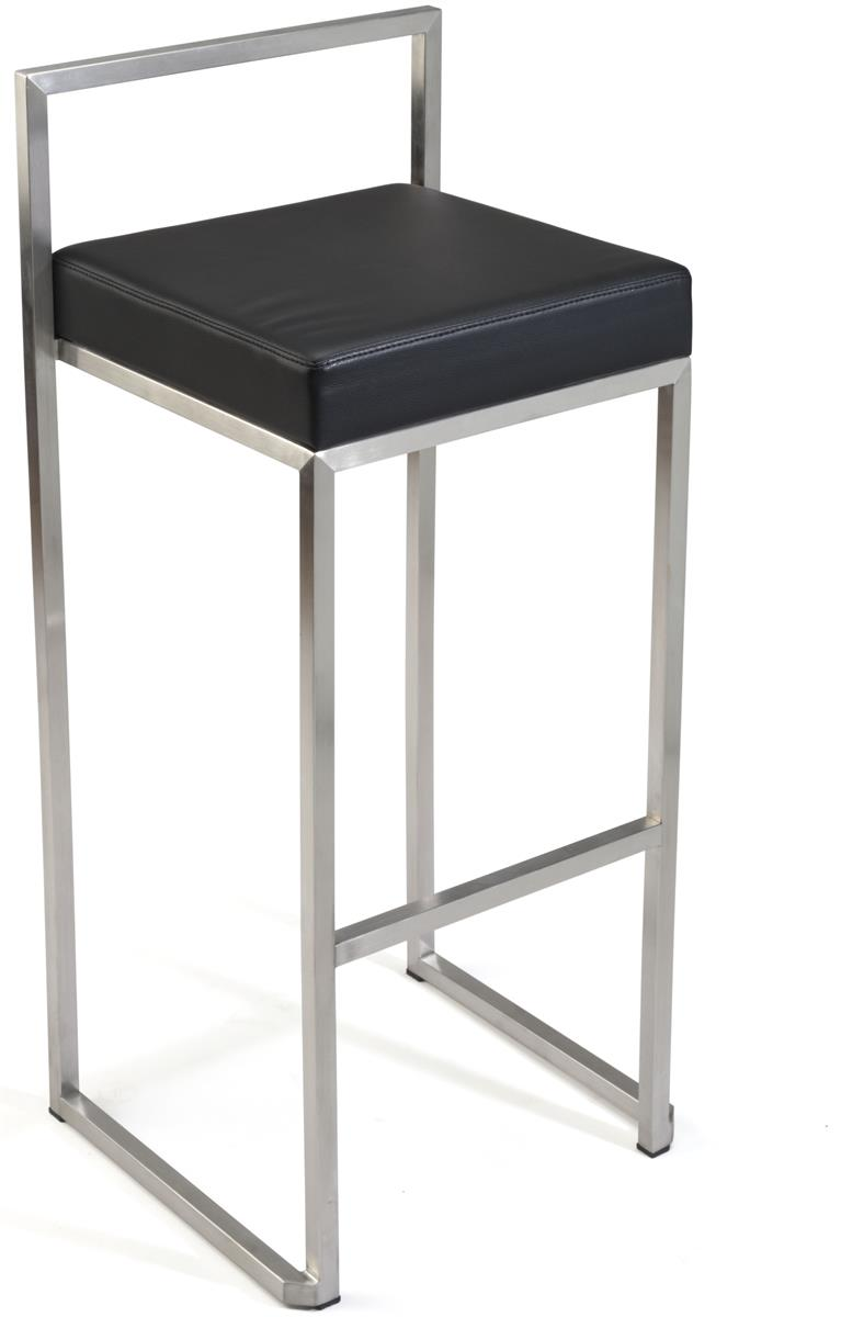 Metal Frame Stool Pu Leather