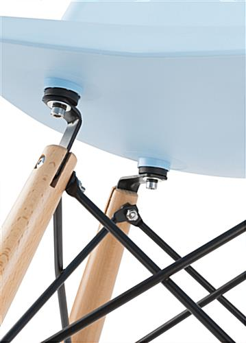 Eiffel Barstool with Extra Support Brackets
