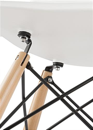 Eiffel Stool with Extra Support Brackets