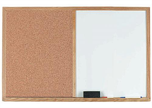 Business Bulletin Boards with Storage Trays