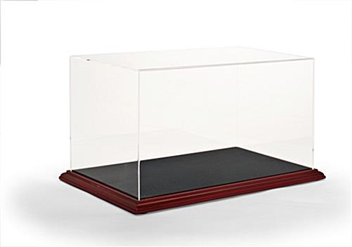 Memorabilia Display Cases Plexiglass Case With Mdf Base