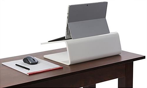 Modern Laptop Stand for Tabletops