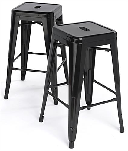 Stacking Metal Stools With Modern Design