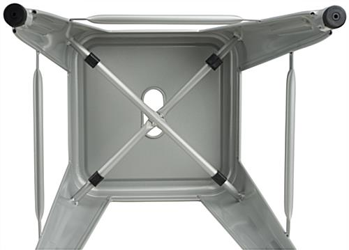Modern Metal Counter Stools  with Stacking Spacers