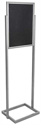 "Floor Standing Silver 18"" x 24"" Poster Display Stand"