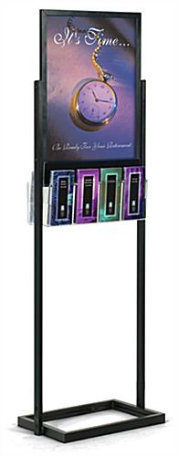 "18"" x 24"" Poster Display Stands: With 8 Acrylic Pockets"