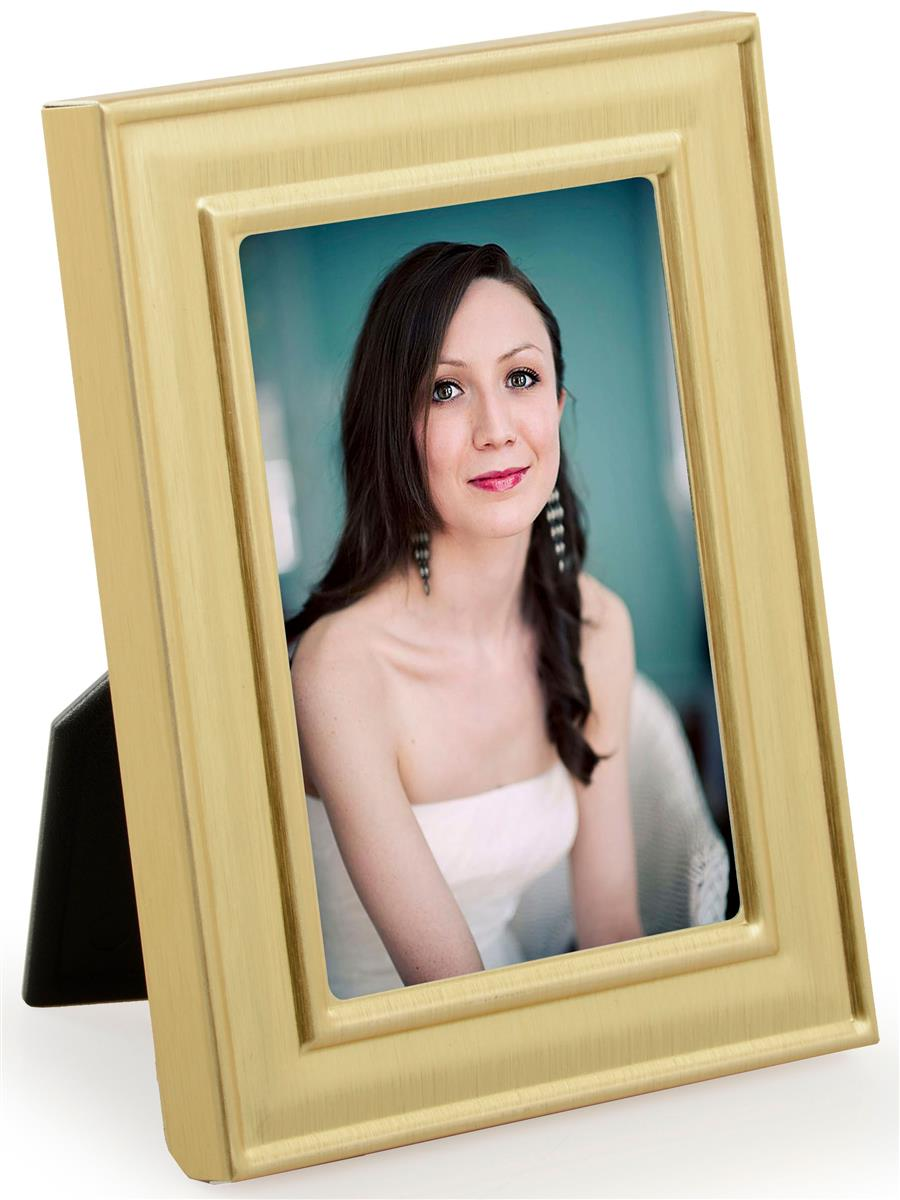 Molded Picture Frame Gold Display For 2 Quot X 3 Quot Prints