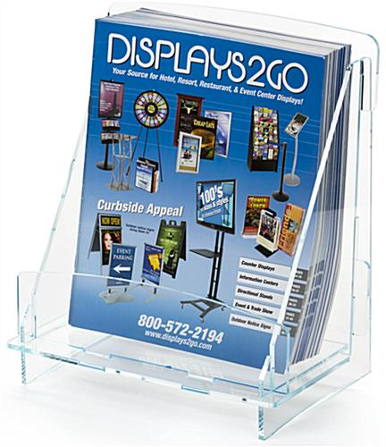 Knock Down Magazine Holder Stores Flat