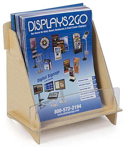 Flat Pack Magazine Display for Travel Agencies