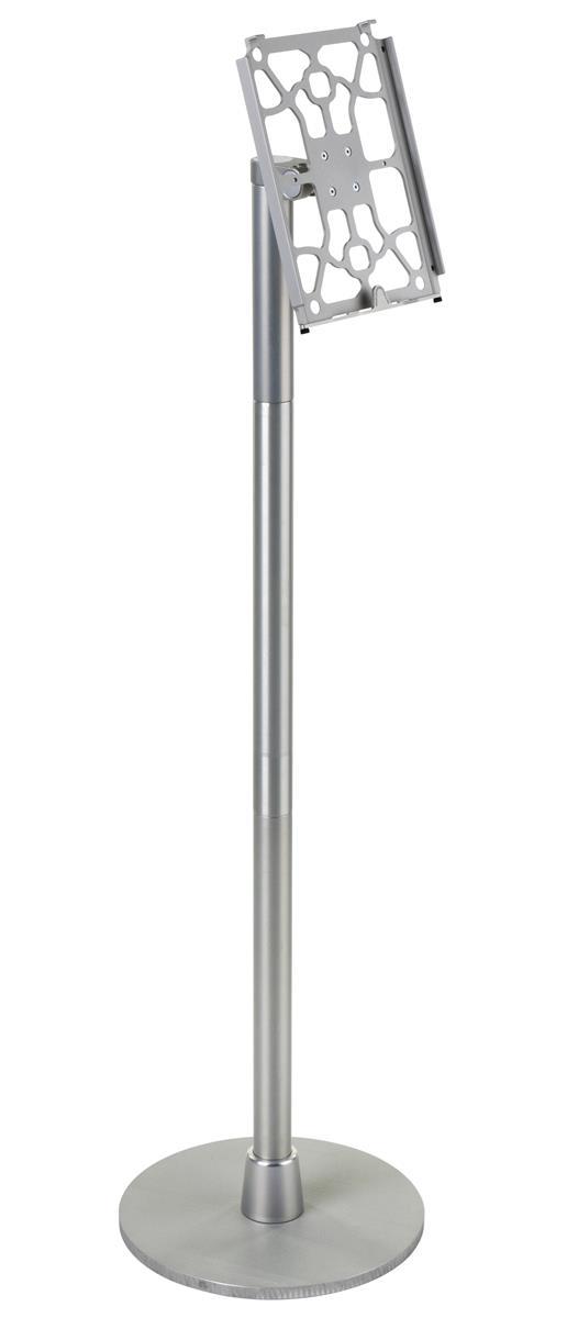 Displays2go iPad Floor Stand w/ Tilting & Rotating Bracke...