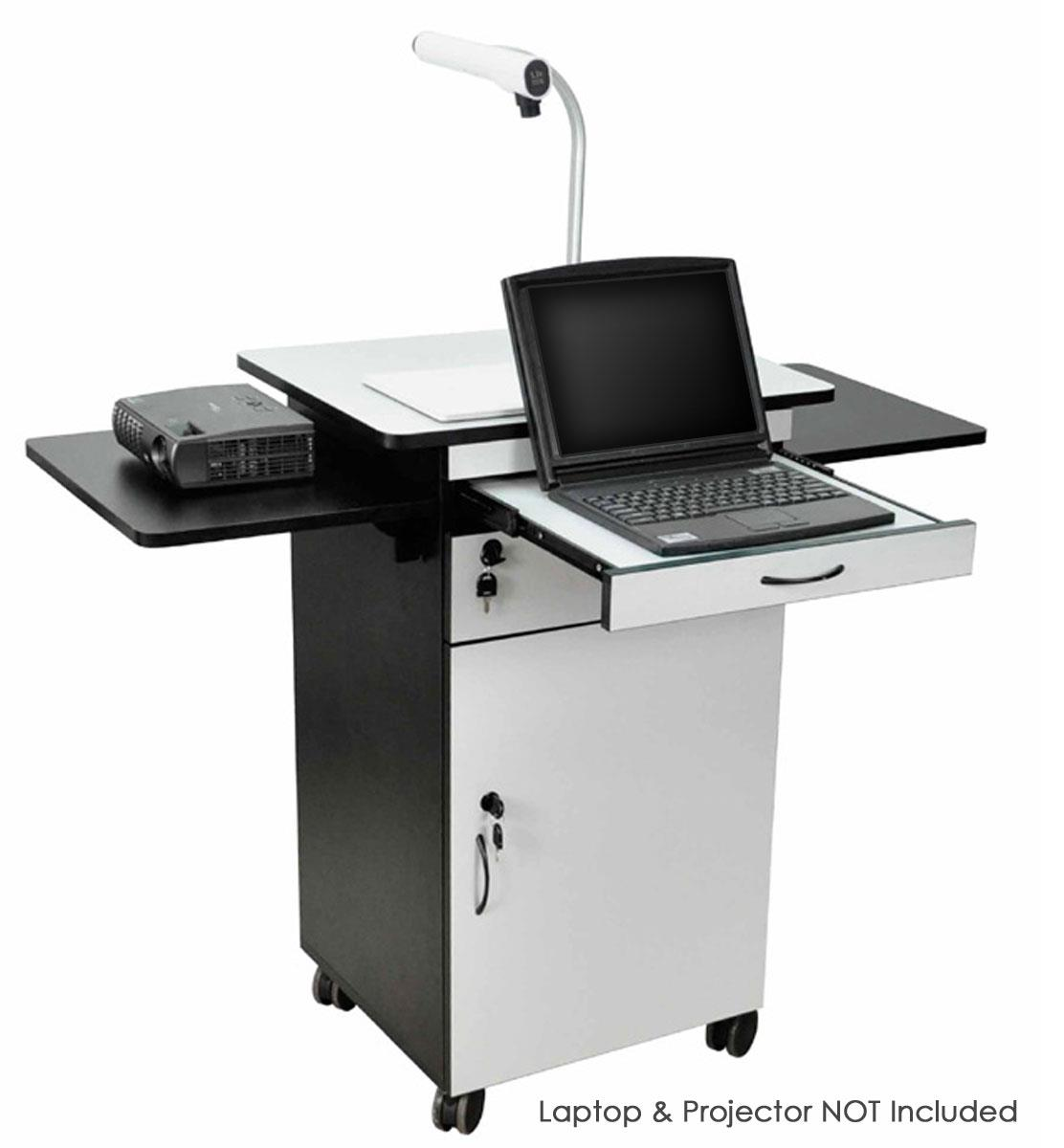 Multimedia Stand For Classrooms Features Built In Locking