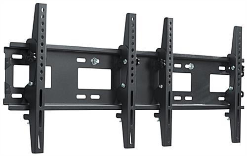 2-TV Wall Mount Bracket has 132lb Combined Max Capacity