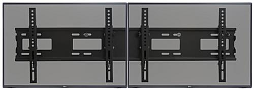 "2-TV Wall Mount Bracket for 26"" - 42"" Screens"