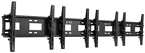 4-Monitor Wall Mount for LCD Screens
