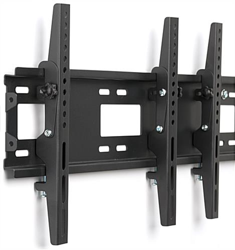 4-Monitor Wall Mount with Adjusting Knob