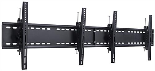 "2-TV Wall Bracket for 30"" to 60"" Monitors"