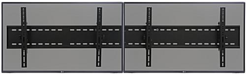 2-TV Wall Bracket for Flat Panel Monitors