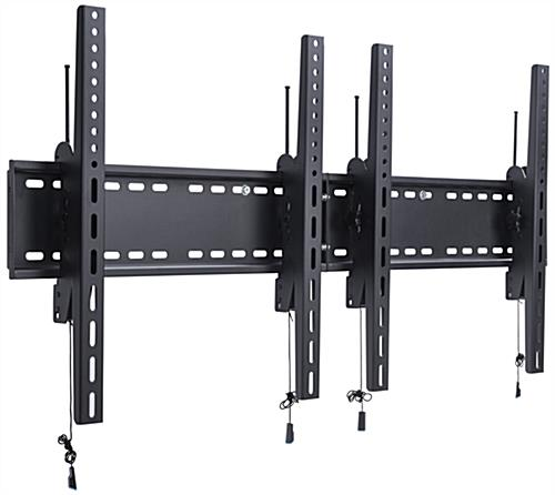 VESA Compliant 2-Monitor Wall Portrait TV Bracket